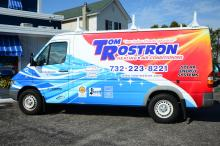 Tom Rostron Heating and Cooling Truck