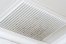 Dirty air filter in need of cleaning by Tom Rostron. Monmouth and Ocean counties New Jersey