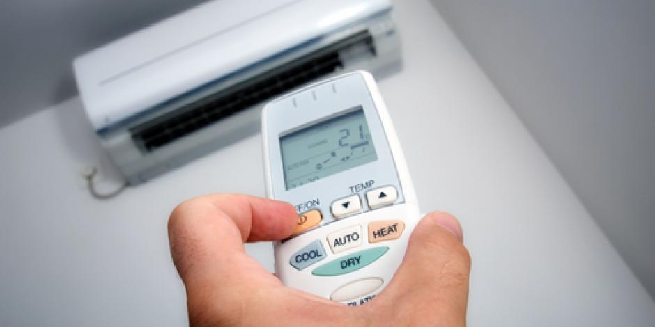 turning on air conditioner with remote tom rostron