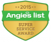 angies list super service award 2015 logo